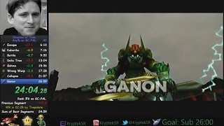 Lets Speedrun | Zelda: Ocarina of Time in 25min. durchgespielt | Dual Commentary
