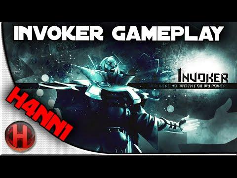 Fnatic.H4nn1 Invoker Gameplay Dota 2