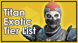 Destiny Forsaken: The Best & Worst Titan Exotic Armor (Datto