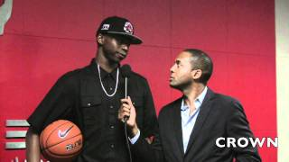 CROWN EXCLUSIVE: ANDREW WIGGINS All-Canada Classic Interview with Drew Ebanks