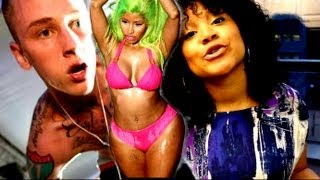 Nicki Minaj Starships vs MGK Wild Boy(Remix) Top 10 Rap Music Video Countdown by First Day Views