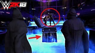 Top 10 SCARIEST Cutscenes they need to bring back in WWE 2K18!