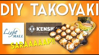 Takoyaki (Do it yourself)  - Delicious and super fun to make!