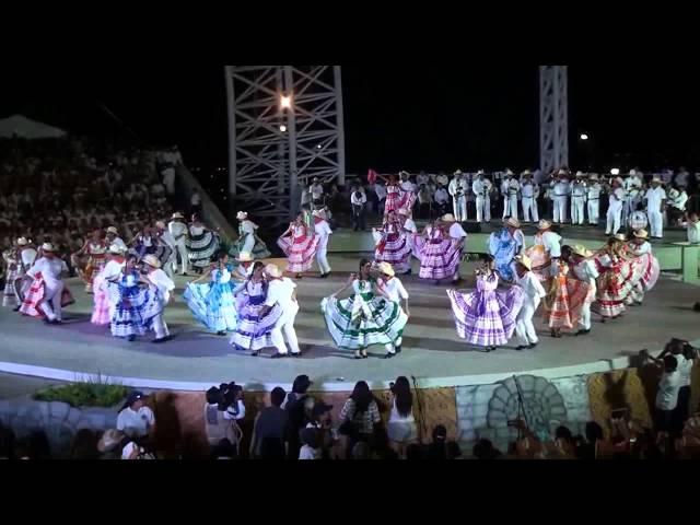 Sones, Juegos y Chilenas de Pinotepa Nacional, en la Guelaguetza 2013