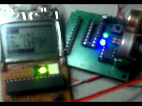 Simple Level & Frequency Meter With Atmega8 and Nokia 3310 LCD