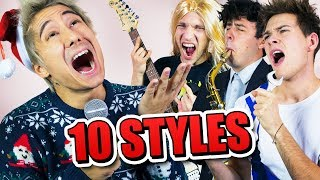 LAST CHRISTMAS in 10 STYLES | Julien Bam