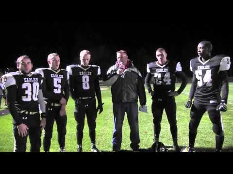NH Sports Page Football  Lebanon vs Kennett Highlights 10-16-15