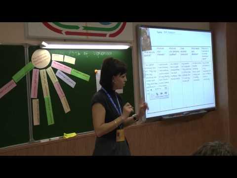 Мастер класс учителя английского языка на конкурсе 184