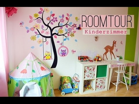 kinderzimmer roomtour ein m dchentraum kleinkind youtube. Black Bedroom Furniture Sets. Home Design Ideas