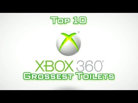 Top 10 Grossest Toilets in Gaming