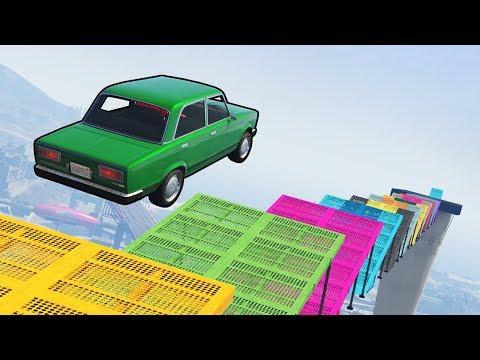 СУМАСШЕДШИЙ СКИЛЛ-ТЕСТ НА ВАЗ 2106 GTA 5 ONLINE