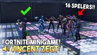 VINCENT ZEGT 2.0 *MET 16 SPELERS* - Fortnite Creative (Nederlands)