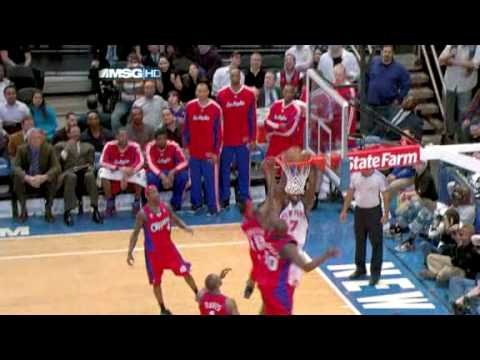 Mike Taylor scores career high 35 points against Knicks 03/25/09