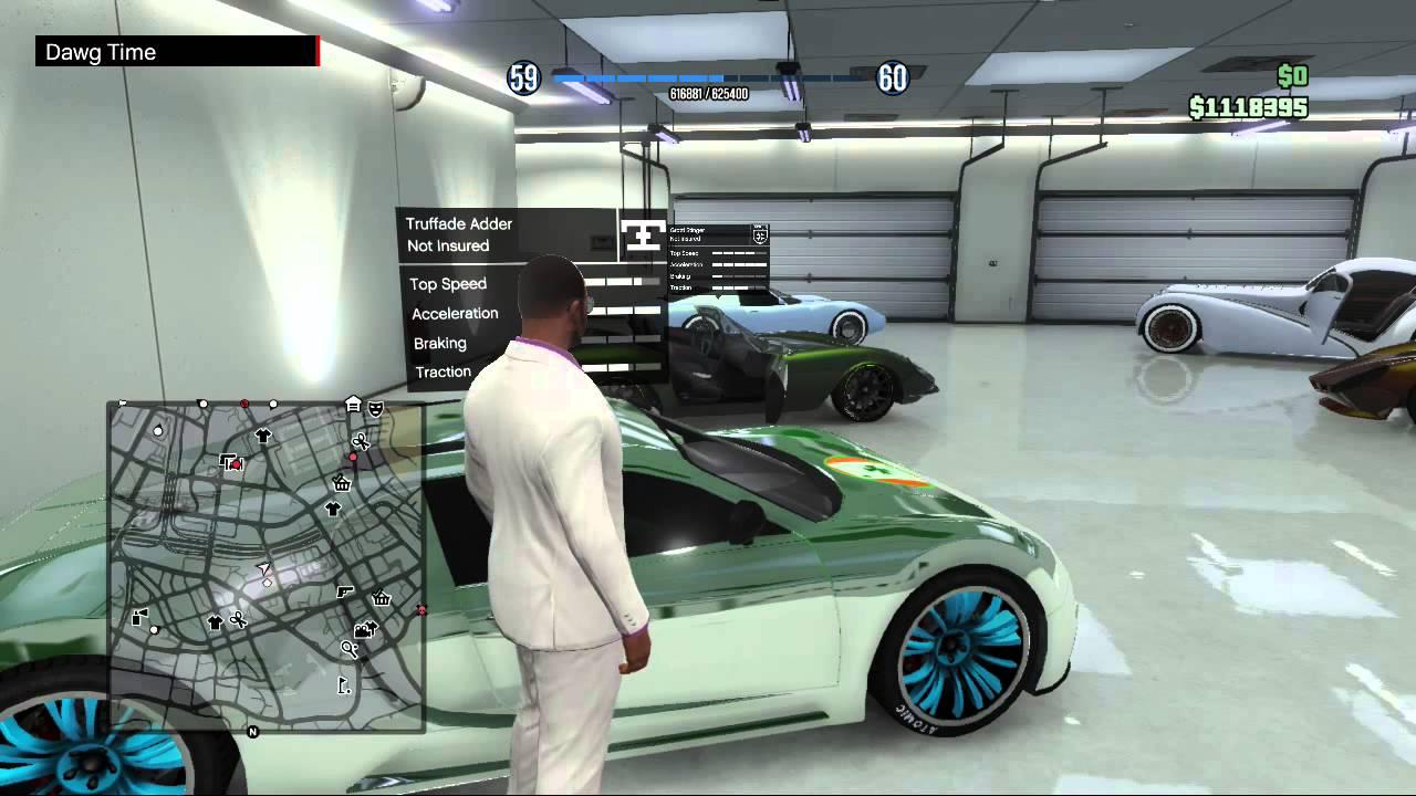 Rich Gta Gta v Rich Mans Garage