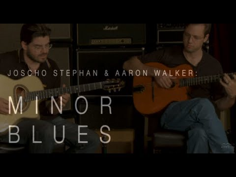 Joscho Stephan & Aaron Walker Play Minor Blues  •  Wildwood Guitars Performance tab