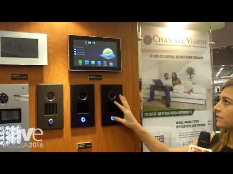 CEDIA 2016: Channel Vision Demos the Video Push Notifications on its IP Intercomm Product