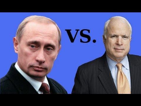 John McCain vs. Vladimir Putin