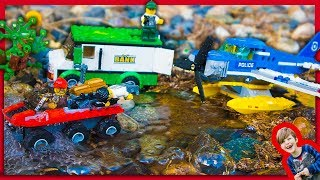 Lego City Mountain Police River Heist