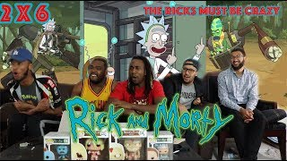 """Rick And Morty Season 2 Episode 6 """"The Ricks Must Be Crazy"""" Reaction/Review"""