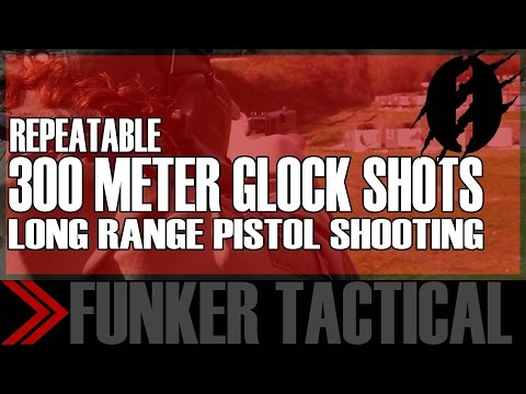 Long Range Shooting with Glock Pistol | Instructor Zero