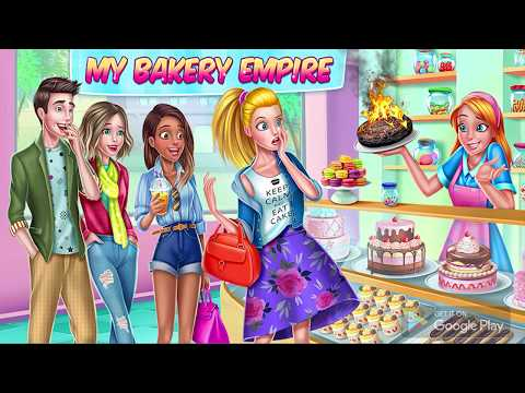 My Bakery Empire - Bake, Decorate & Serve Cakes APK Cover