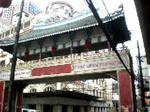 Here's a short video of the arch entrance for ChinaTown and the buildings that greeted us in Binondo Manila. We were still looking for a place to eat and we ended up eating in the Mini-Stop...