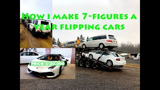 How i make 7-Figures a year Flipping Cars | Salvage Lamborghini Huracan | Salvage Tesla