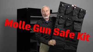 Molle Door Panel Organizer for Your gun safe.