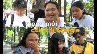 Giới trẻ Việt trầm trồ với giọng nói mới của chị Google