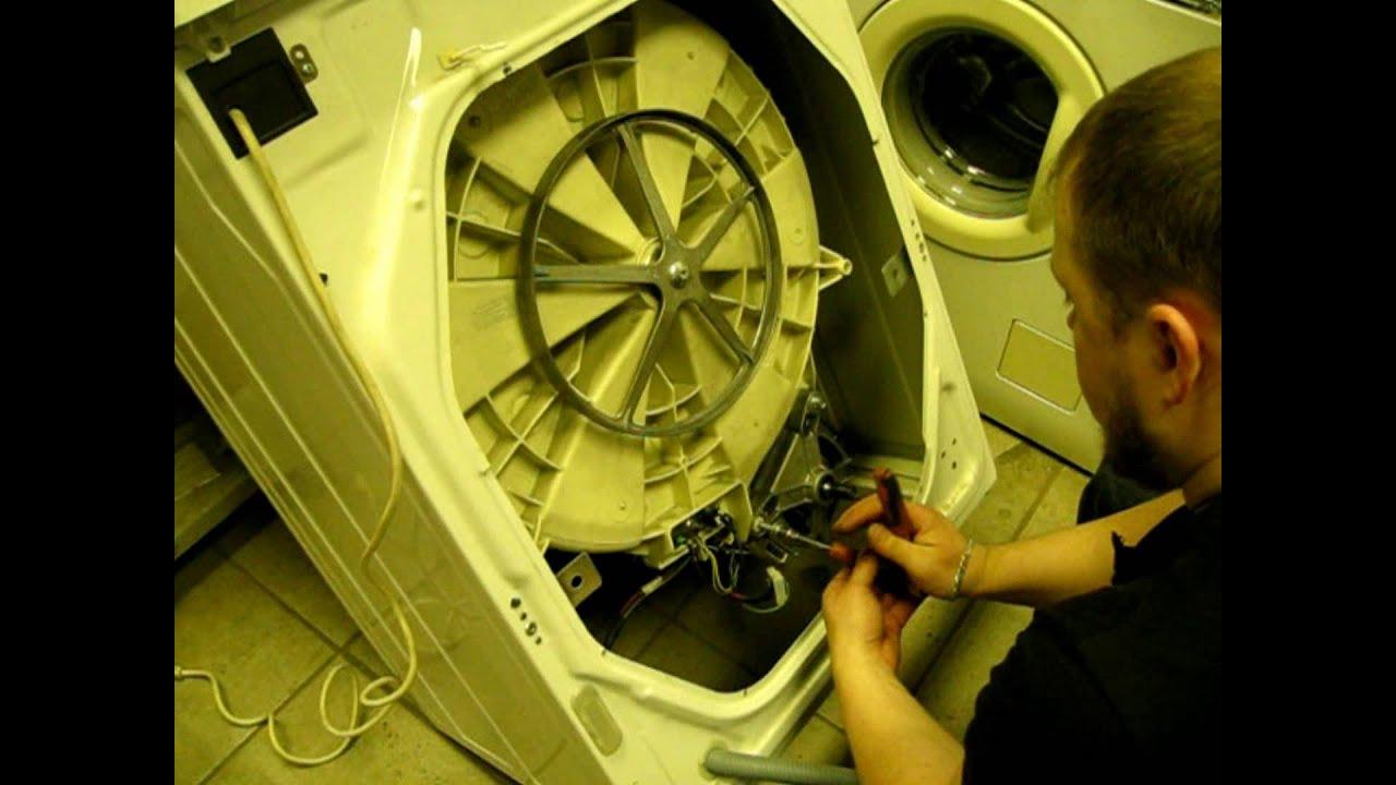 Замена ремня на стиральной машине самсунг своими руками