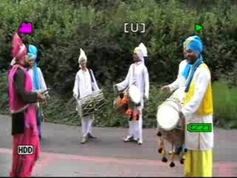 Azaad Dhol & Bhangra Group  Cineworld Wolverhampton 2008 video