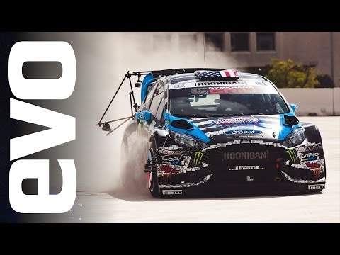 Ken Block Footkhana: Exclusive Behind The Scenes | Evo Extra video