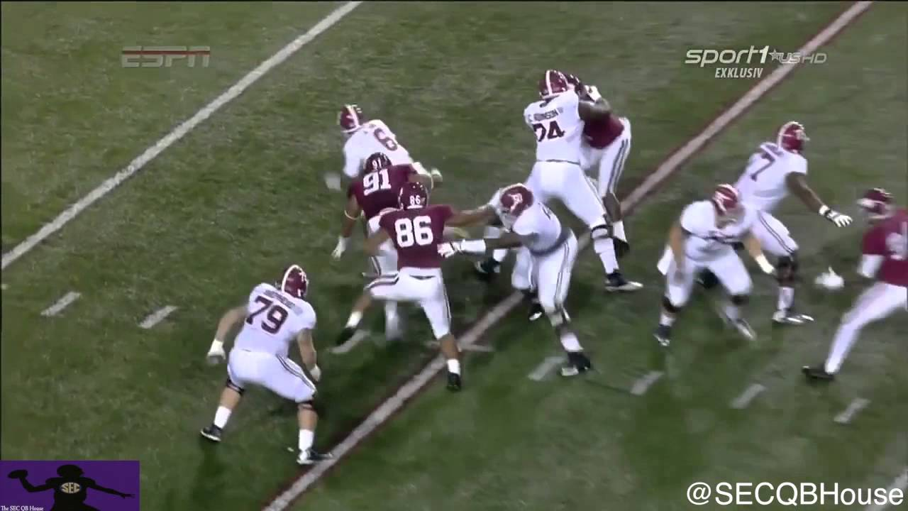 Blake Sims vs Arkansas (2014)