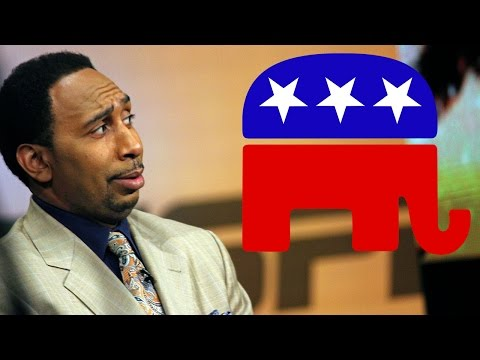 Why Stephen A. Smith Wants All Black People To Vote Republican