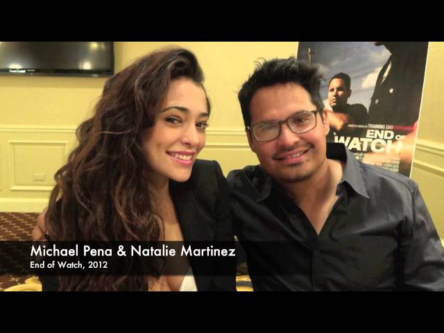 End of Watch's Michael Pena and Natalie Martinez
