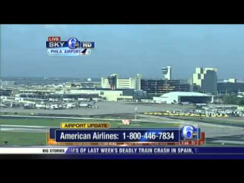 All American Airlines morning flights cancelled at PHL
