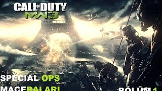 Call Of Duty MW3 Special Ops Bölüm 1