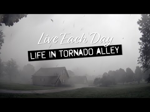 Tornado Emergency Shelter - Severe Weather in Oklahoma