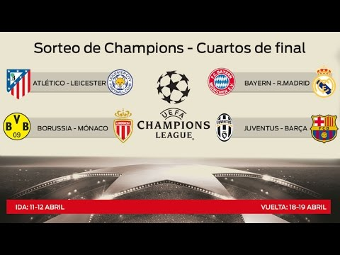 Четвертьфинал Лиги Чемпионов 2016/2017 Ювентус - Барселона / Бавария - Реал Мадрид