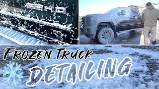 FROZEN Truck Detail | Complete Interior Exterior Car Detailing Below Zero!