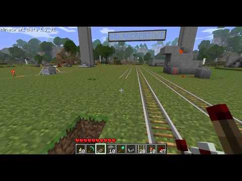 Minecraft - Les MDC 20 Ancien booster vs. Rails booster
