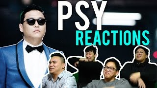 PSY has a NEW FACE and I LUV IT MV Reactions