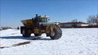 1991 Ag-Chem TerraGator 1803 dry spreader for sale | sold at auction April 9, 2014