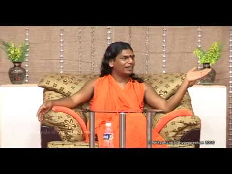 La compassion: French discourse by Nithyananda