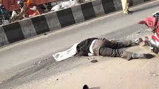 Kanjawala road accident