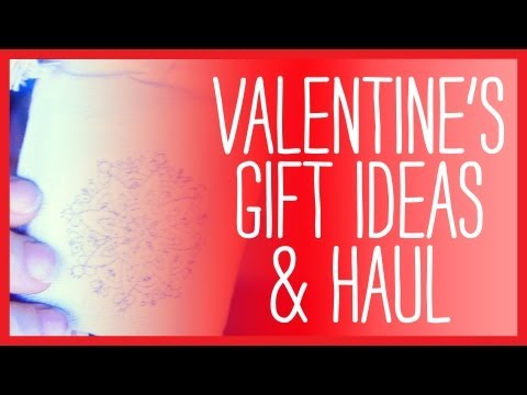 Creative Ideas for Valentines Day Gifts, Valentines Haul