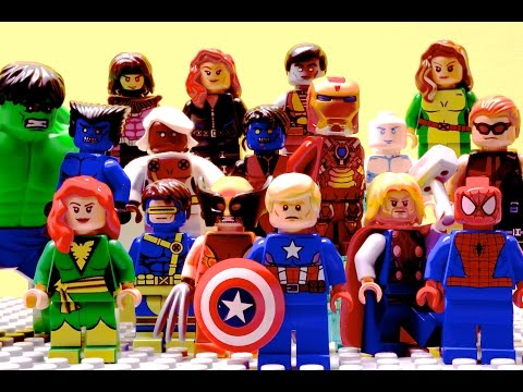 Lego Avengers and X-Men - Edge of Extinction