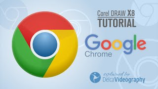 (BÁSICO) LOGO GOOGLE CHROME TUTORIAL COREL DRAW X8
