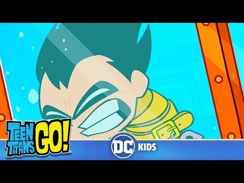 Teen Titans Go! | Robin's Impossible Escape Trick | DC Kids