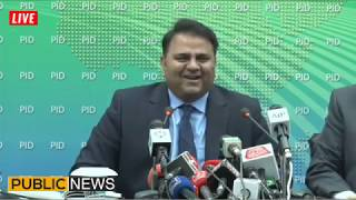 Fawad Chaudhry COMPLETE Press Conference today | 19 March 2019